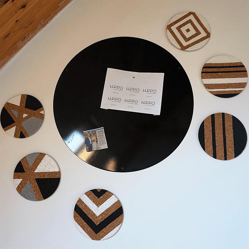 Magnetenbord & kurk